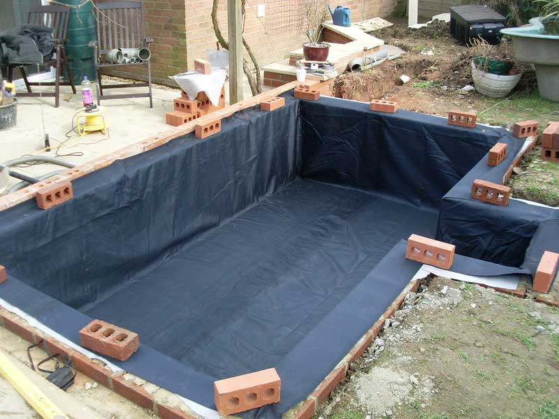Water garden pond specialist maintenance services imas for Koi pond liner